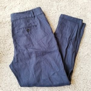 Ann Taylor Linen Trousers Pants